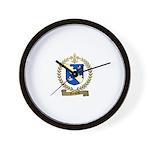 ROCHETTE Family Crest Wall Clock
