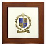 RODRIGUE Family Crest Framed Tile