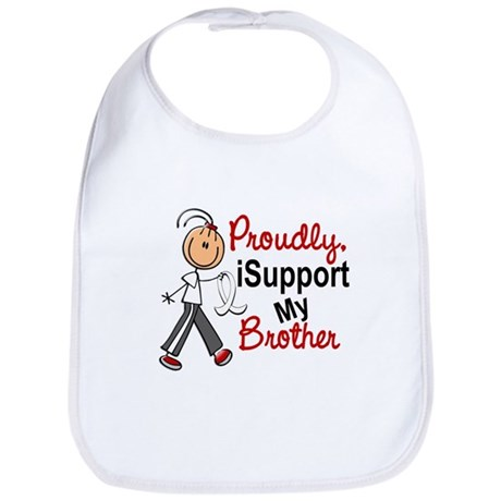 I Support My Brother 1 (SFT LC) Bib