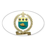 ROMPRE Family Crest Oval Sticker
