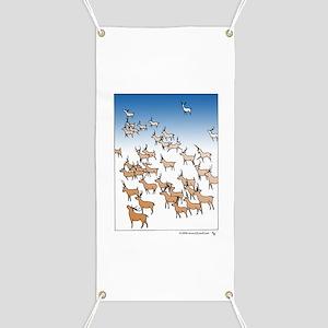Reindeer Herd Banner