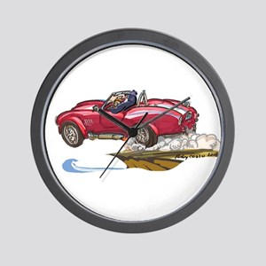 hOtRoD PeNgUiN Wall Clock