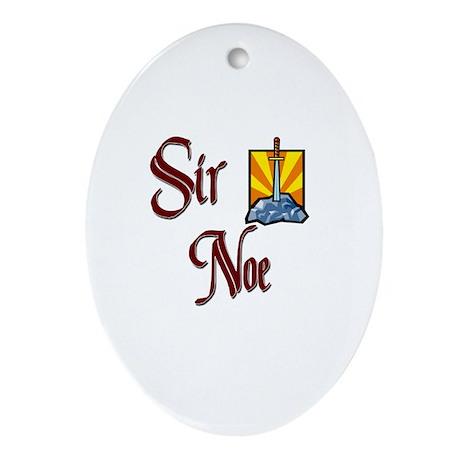 Sir Noe Oval Ornament