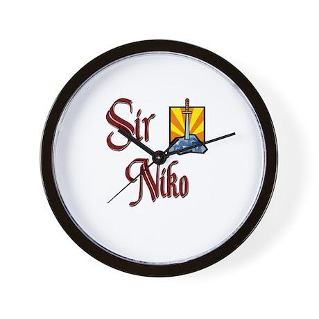 Sir Niko Wall Clock