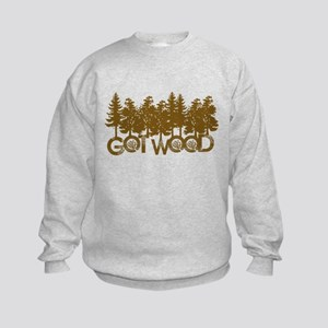 Shaun Dead Got Wood Kids Sweatshirt