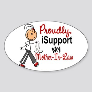 I Support My Mother-In-Law 1 (SFT LC) Sticker (Ova