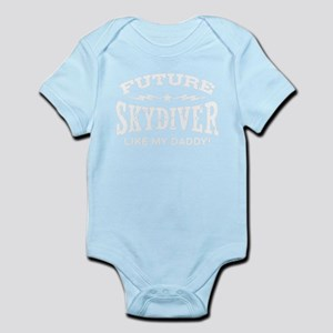 Future Skydiver Like My Daddy Body Suit
