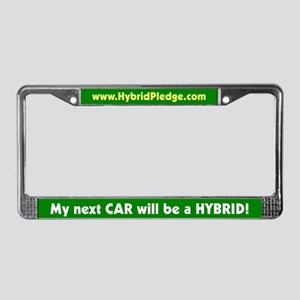 """Next Car"" License Plate Frame"
