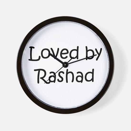 Unique Rashad Wall Clock