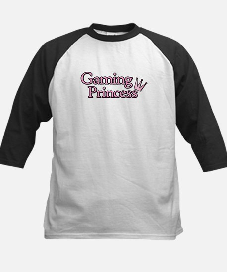 Gaming Princess Kids Baseball Jersey