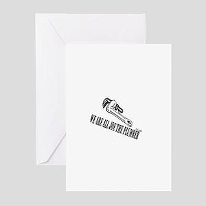 Joe the Plumber Greeting Cards (Pk of 20)