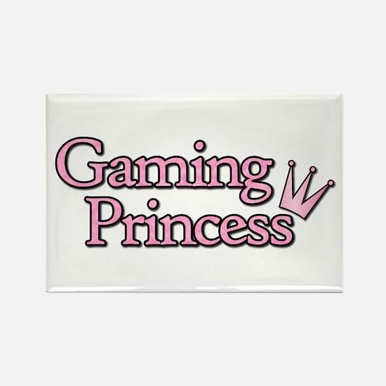 Gaming Princess Rectangle Magnet