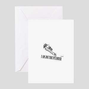 Joe the Plumber Greeting Card