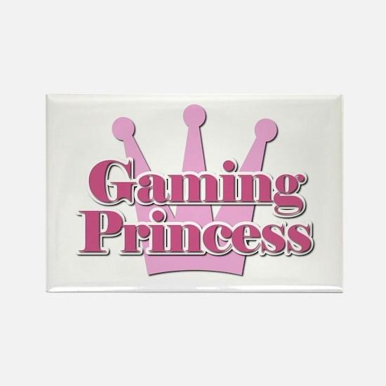 Crown Gaming Princess Rectangle Magnet