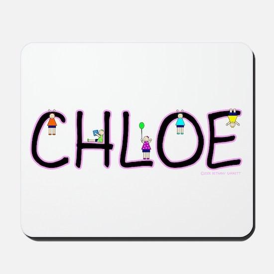 Chloe (Girl) Mousepad