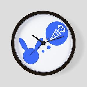dreaming bunny Wall Clock
