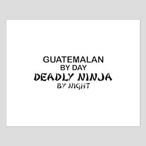 Guatemalan Deadly Ninja by Night Small Poster