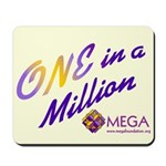 """One in a Million"" Mousepad"