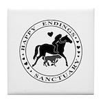 Happy Endings Animal Sanctuary Tile Coaster