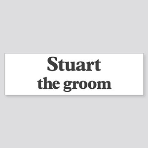 Stuart the groom Bumper Sticker