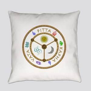 Doshas in Color Everyday Pillow