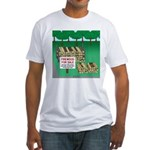 Firewood for Sale Fitted T-Shirt