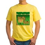 Firewood for Sale Yellow T-Shirt