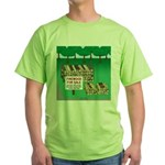 Firewood for Sale Green T-Shirt