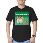 Firewood for Sale Men's Fitted T-Shirt (dark)