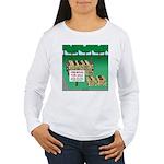 Firewood for Sale Women's Long Sleeve T-Shirt