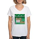 Firewood for Sale Women's V-Neck T-Shirt