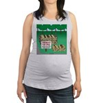 Firewood for Sale Maternity Tank Top