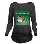 Firewood for Sale Long Sleeve Maternity T-Shirt