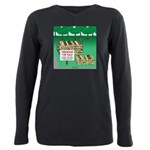 Firewood for Sale Plus Size Long Sleeve Tee