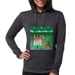 Firewood for Sale Womens Hooded Shirt