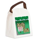 Firewood for Sale Canvas Lunch Bag