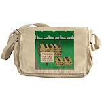 Firewood for Sale Messenger Bag