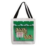 Firewood for Sale Polyester Tote Bag
