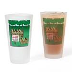 Firewood for Sale Drinking Glass