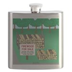 Firewood for Sale Flask