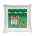 Firewood for Sale Everyday Pillow