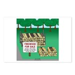 Firewood for Sale Postcards (Package of 8)
