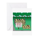 Firewood for Sale Greeting Cards (Pk of 20)
