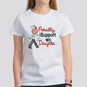 I Support My Daughter 1 (SFT LC) Women's T-Shirt