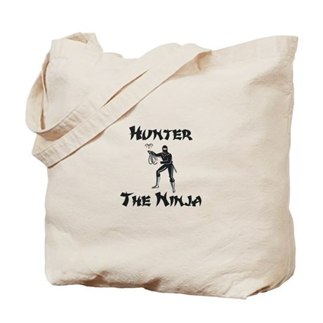 Hunter - The Ninja Tote Bag