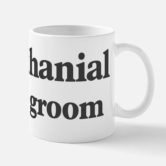 Nathanial the groom Mug