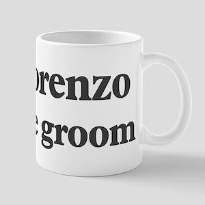 Lorenzo the groom Mug