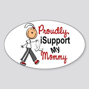 I Support My Mommy 1 (SFT LC) Oval Sticker