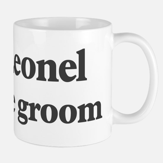 Leonel the groom Mug
