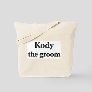Kody the groom Tote Bag